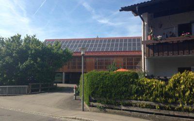 ヴィルトポルツリートの太陽光発電