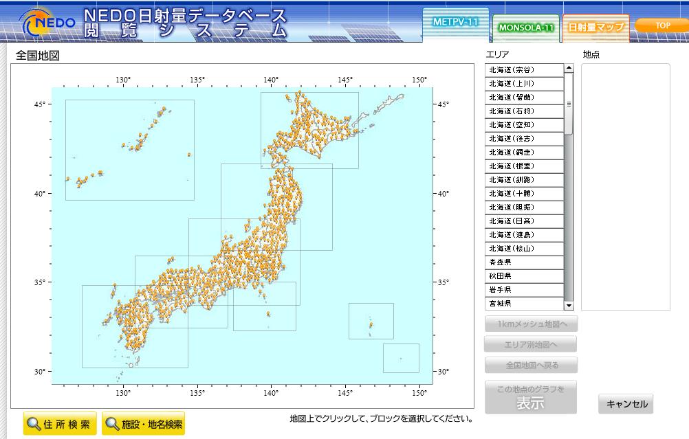 気象データを使った簡単シミュレーション