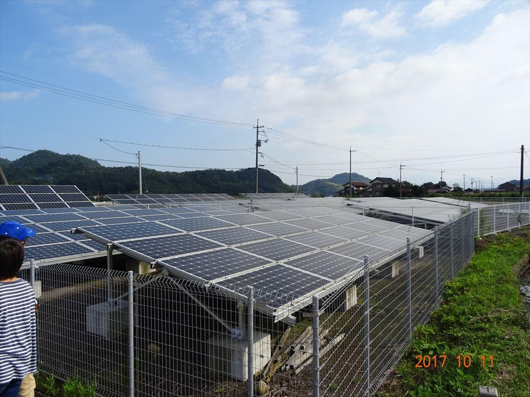 鳥取県の太陽光発電所